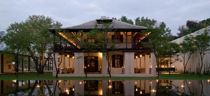 Anantara Chiang Mai Resort – Nær Natmarked – Ved floden