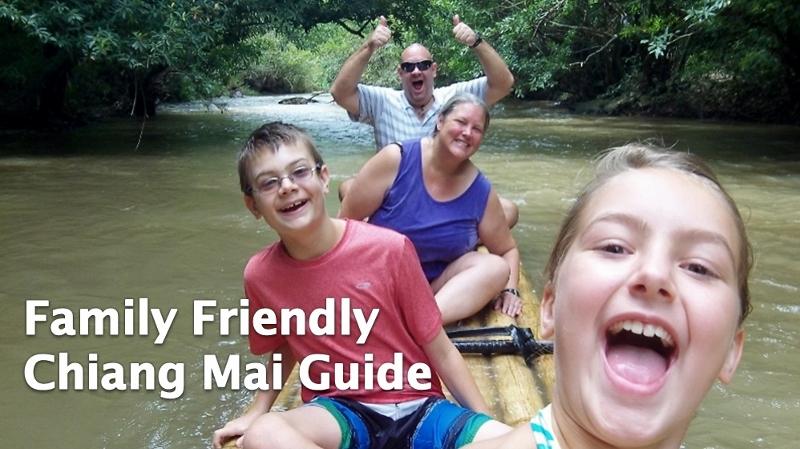 Chiang Mai med børn